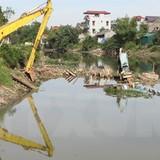 Hà Nội chi gần 630 tỷ đồng cho nạo vét trục chính sông Nhuệ