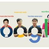 """Sáu chàng trai Việt """"nắm tay nhau"""" đến Google"""
