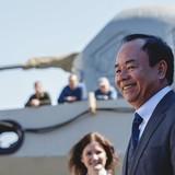 [Ảnh] Chiêm ngưỡng tàu Gepard thứ 3 của Việt Nam hạ thuỷ ở Nga