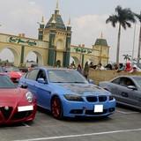 Dàn siêu xe thử tốc độ ở trường đua đầu tiên của Việt Nam