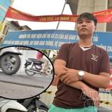 Nghi vấn thanh sắt dự án Cát Linh - Hà Đông rơi trúng người đi đường