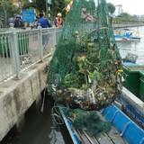 Rải 7 tấn hóa chất xuống kênh Nhiêu Lộc - Thị Nghè để xử lý ô nhiễm