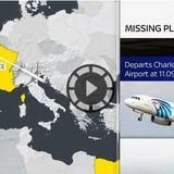 Tìm thấy thi thể nạn nhân, mảnh vỡ máy bay EgyptAir
