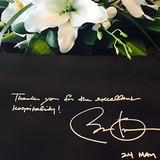 Ông Obama viết gì trước khi rời khách sạn Marriot ở Hà Nội?