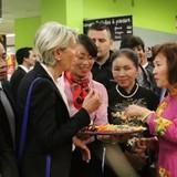 Bia Hà Nội, vải thiều Bắc Giang lên kệ siêu thị châu Âu