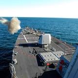 Sức mạnh hải pháo trên tàu chiến Mỹ