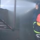Cháy lớn tại công ty thủy sản, thiệt hại hàng tỷ đồng