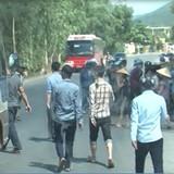Xe đưa đón công nhân bị chặn vì nhà trọ ế: Cơ quan công an vào cuộc
