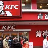 """KFC, iPhone bị tẩy chay ở Trung Quốc sau phán quyết """"đường lưỡi bò"""""""