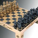 Bộ cờ vua nạm vàng và kim cương giá 8 tỷ đồng