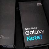 """Tràn lan hình ảnh """"đập hộp"""" Galaxy Note 7, đủ ba màu vàng, đen, xám"""