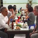 Video: Ông Obama hết lời khen bún chả Hà Nội trên kênh CNN