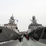 Những chiến hạm hùng mạnh nhất của Hải quân Nga