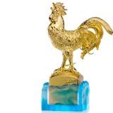 630 triệu đồng một con gà trống gắn kim cương