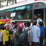 Từ Sài Gòn về quê ăn Tết thế nào để tránh kẹt xe