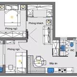 Thiết kế căn hộ chỉ 48 m2 nhưng thoải mái cho 4 người