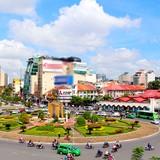 Vòng xoay trước chợ Bến Thành được phá bỏ để xây ga ngầm metro