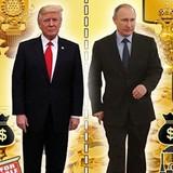 Đọ tài sản của Trump với Putin, ai giàu hơn?
