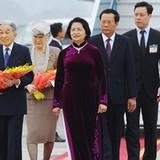 Nhà vua và Hoàng hậu Nhật Bản đã đến Hà Nội