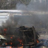 112 người chết trong vụ đánh bom đoàn xe sơ tán ở Syria