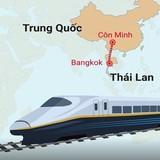 [Video] Dự án đường sắt cao tốc tỷ đô Thái Lan - Trung Quốc