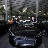 Cận cảnh dàn xe sang Audi chuẩn bị phục vụ APEC 2017