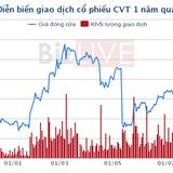 CVT: Hơn 28 triệu cổ phiếu chuyển sang HOSE với giá 50.600 đồng/cổ phiếu