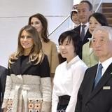 Phong cách thời trang khác biệt của bà Melania khi công du châu Á