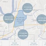 Hơn trăm triệu đồng mỗi m2 đất phía Tây khu thể thao SEA Games
