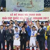"""Futsal Việt Nam """"chốt sổ"""" năm 2017: Cất cánh ước mơ!"""