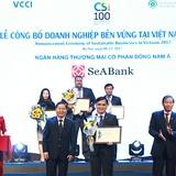 SeABank nằm trong top 100 doanh nghiệp phát triển bền vững Việt Nam 2017