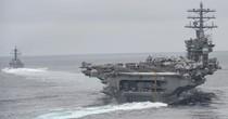 Mỹ điều nhóm tàu tấn công thứ ba răn đe Triều Tiên