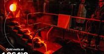 Cận cảnh khai thác mỏ vàng khổng lồ dưới lòng đất