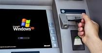 ATM chạy Windows XP trước mối lo mã độc tống tiền