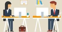 [Infographic] Quan điểm khác biệt của nam và nữ giới về vai trò, năng lực tại công sở