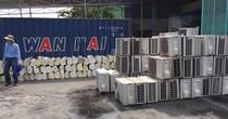 Bắt giữ hàng nghìn máy điều hòa nhiệt độ nhập lậu