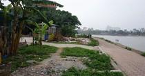 Dự án đường giao thông ven hồ Linh Đàm: Hơn chục năm vẫn đắp chiếu