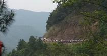 Tắc kinh hoàng đường lên khu du lịch Mẫu Sơn