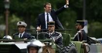 Thông điệp của Tổng thống Pháp khi dùng xe quân sự nhậm chức