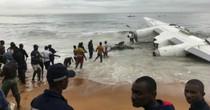 Máy bay chở hàng cho quân đội Pháp rơi ở Đại Tây Dương