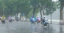 Thời tiết tuần tới: Đầu tuần âm u, cuối tuần có mưa rào và dông trên cả nước