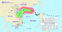 Siêu bão số 11 giật cấp 16, hướng vào miền Trung