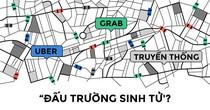 Taxi truyền thống và Uber, Grab: Thay đổi để tồn tại