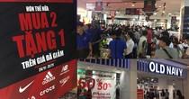 Black Friday 2017: Các trung tâm thương mại TP.HCM đông nghẹt người mua