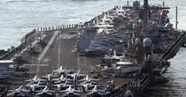 """Nhóm tàu tấn công của Mỹ """"biến mất"""" trên đường tới bán đảo Triều Tiên"""