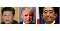 Ông Trump điện đàm đột xuất với chủ tịch Trung Quốc và thủ tướng Nhật