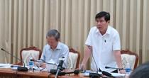 """Lấy lại vỉa hè, Chủ tịch TP. HCM Nguyễn Thành Phong nói """"Đừng làm cho có"""""""