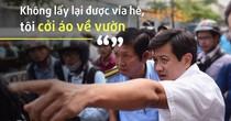 <span class='bizdaily'>BizDAILY</span> : Ông Đoàn Ngọc Hải trở lại dẹp vỉa hè sau thời gian dài vắng bóng