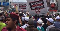 Hàng nghìn người châu Á biểu tình phản đối quyết định của ông Trump về Jerusalem