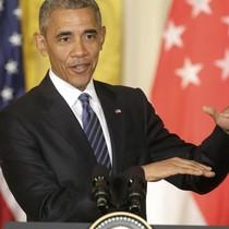 Ông Obama cảnh báo Trung Quốc ngừng phô trương sức mạnh ở Biển Đông